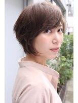 アンバースデー(UNBIRTHDAY)大人女性に◇ひし形ショート【福井菜々子】