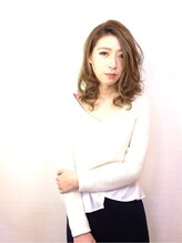ヘアスタジオ エコー(hair studio ecoH)シルキーアッシュカール