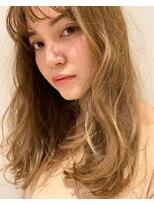 リッカ ミューク たまプラーザ(lycka mjuk)透明感カラーロングスタイルヘア