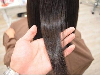 リノ ヘア(Lino hair)の写真/【髪質改善ヘアサプリで叶える♪】パーマやカラーを繰り返すほど髪がキレイに!もっと扱いやすくなる髪へ★