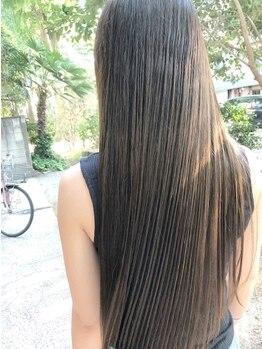 オリオリ(oli-oli)の写真/【5周年☆記念】髪質・クセに合わせた施術でナチュラルなストレートヘアに♪朝のスタイリングも楽に◎