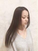 ボヌールヘア(BONHEUR HAIR)ボヌールヘアー 綾瀬【岡部 賢悟】アッシュブラウン