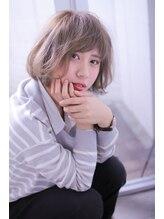 ウィッシュ ヘアー(Wish Hair)【Wish Hair】外国人風ゆるふわボブ