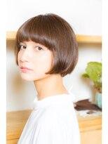 テラス(terrace)【terrace銀座】リップラインのマチルダボブ☆ 重め前髪