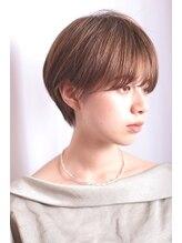 ネオリーブエクラ 上野御徒町店(Neolive eclat)◆大人かわいい小顔丸みのあるショート 20代30代40代 上野
