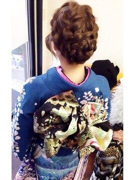振袖髪型(成人式&結婚式) アミー あびこ店 Hair Creation ami★振袖着付け&ヘアセット★