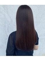 【髪香】アイロンでカンタン♪ナチュラルストレート