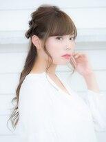 オーブ ヘアー ルル 京都四条通り店(AUBE HAIR lulu)万能♪三つ編みハーフアップ