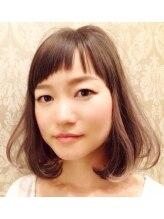アーリアエスウーノ(aria es uno)大人可愛いインナーカラーボブ☆【a:ria es uno】