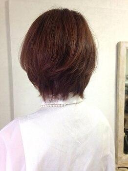 ツール ヘア デザイン(tuul hair desing)の写真/≪カット+オーガニック艶カラー+トリートメント¥7700≫髪にも頭皮にも優しく、印象UPの潤いある美髪へ…☆