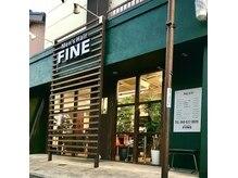 メンズヘアーファイン(Men's Hair FINE)の雰囲気(鉄道博物館駅から、徒歩10分。緑色の店舗が目印です!)
