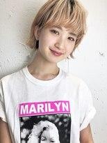 クリアーオブヘアー 栄南店(CLEAR of hair)【CLEAR】厚めバングが可愛いワンレンボブ