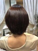 ブレスヘアーデザイン(BLESS HAIR DESIGN)美革ストレート(縮毛矯正)×ショート