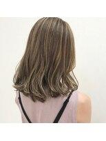 ルッツ(Lutz. hair design)ショコラブラウン×ハイライト