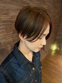 ヘアーアンドフェイスアリス(HAIR&FACE alice)の写真/くせ毛や毛量の多い方・少ない方も、お家でのカンタンブローで小顔になります!!*