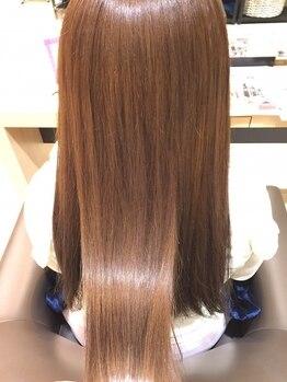 ソワンドゥブレスラペ あやめ池店(soin de brace Lapaix)の写真/今まで満足しなかった方にこそ試してほしい♪話題の『oggiotto-オッジィオット-』の魔法の美髪ケア…☆