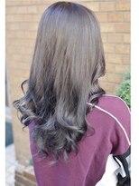 ヘアーデザイン キャンパス(hair design Campus)【イルミナRカラー☆】ラベンダーグレイッシュ♪
