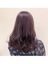 ウィル(WILL)艶髪暖色系カラー【ピンクパープル】