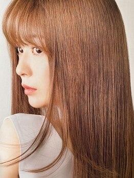 ヘアーアンドフェイスアリス(HAIR&FACE alice)の写真/クセ・パサつきでまとまりづらいヘアーが傷まずサラサラになります!!ダメージレスに美髪を目指す方に!