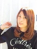 ヘアーサロン リンカ(Hair Salon Rinka)大人可愛いナチュラルセミディ