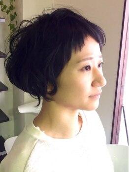 アプリコ(Aprico)の写真/【4周年記念カット¥3900】マンツーマン施術で緊張しちゃう方も安心!なりたいカタチをしっかり再現致します