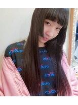 姫カット ストレートロング★武蔵小山美容室