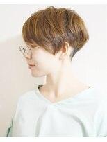 ラトリエコンタン(L´atelier Content)【L`atelier Content miho】ツーブロックベリーショート×パーマ
