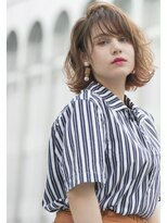 ヘアサロン リコ(hair salon lico)☆斜めバングショートボブ☆【hair salon lico】03-5579-9825