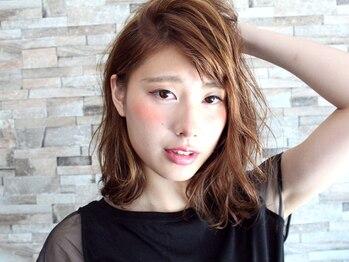 ライズヘアーブランド 宝塚中山店(RISE HAIR BRAND)の写真/マンネリになりがちな髪色に遊び心をプラスしてみませんか♪あなただけのデザインで周りと差をつけよう☆