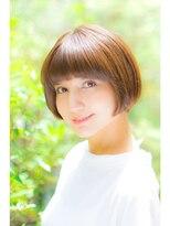 テラス(terrace)【terrace銀座】重め前髪の夏ショート 小顔ヘア
