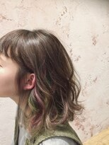 ヘアーサロン リアン 鴻巣店(hair salon Rien)インナーカラー