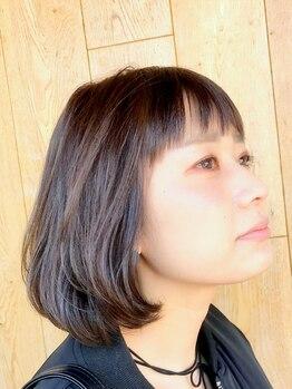 ザヘアショップ(THE HAIR SHOP)の写真/【そぎバサミを使わない】カットだから、毛先まで指通り◎!収まりの良くまとまるダメージレスなスタイル♪
