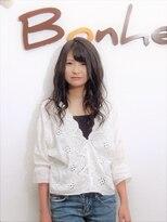 美容室 ボヌール【ボヌール】ふんわりミディアム【オーガニック】