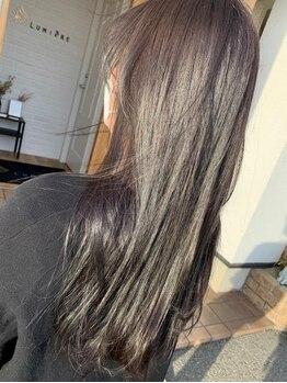 ルミエール(Lumiere)の写真/《ケア×カラー》の新常識!髪の修復&改善が同時に叶う【ホリスティックカラー】で未体験の上質な艶髪へ