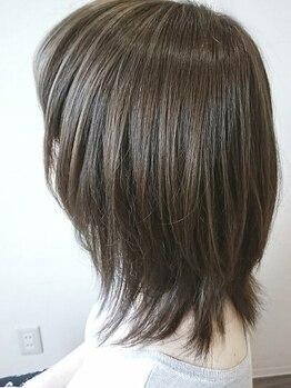 アスール(AZUL)の写真/【円山公園駅徒歩1分】ダメージが気になる方にオススメ!カラーをしながら毛髪強度UP&補修で素髪から綺麗に!