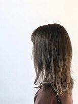 ヘアサロン レア(hair salon lea)【LEA赤羽 山本】ナチュラルグラデ_グレージュエアリースタイル