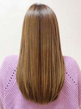 エッジ オリジネーション 梅田店(edge origination)の写真/【Cut+インフェノムTR¥4740】状態やダメージに応じて最適なトリートメントをご提供!髪の芯から輝く美髪に♪