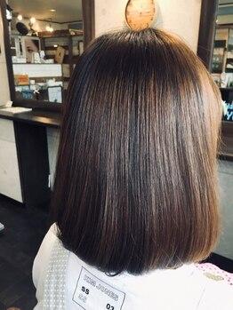 ヘアサロンユーヤ(hair salon Yu Ya)の写真/カラーバリエーションが豊富だから、似合う色がきっと見つかる◎グレイカラーもお任せ下さい!