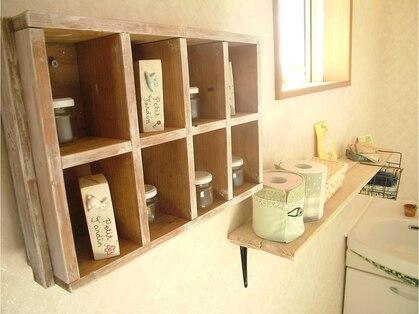 てふてふ美容室の写真