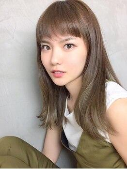 ヘアメイクスタジオ アビール 調布(abi‐ru)の写真/一般的な縮毛矯正とは一味違う!クセを伸ばしながら髪質ケア♪ナチュラルストレートで美髪へ☆