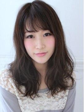 アグ ヘアー ドレス 喜久田店(Agu hair dress)《Agu hair》Aライン甘めラフウェーブ