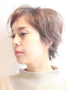ナップヘアースコヤ(NAP hair Scoya)の写真/当店オーダー人気NO.1!!骨格や雰囲気ライフスタイルを踏まえた似合わせショートスタイルならNAPにお任せ♪