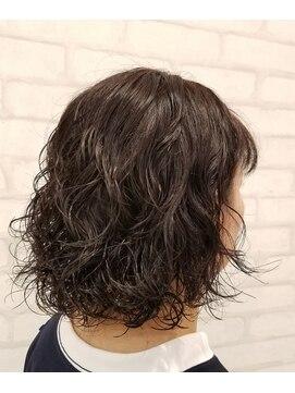 ビス ヘア アンド ビューティー 西新井店(Vis Hair&Beauty)ボブ/ハードパーマ/ボブ/ミニボブ/小顔/大人かわいい/20代30代