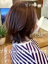 #前髪#くびれ#韓国ヘア#ウルフカット#前髪なし#プリカール