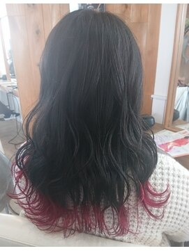 ソイル ヘアー(soil hair)フリンジカラー