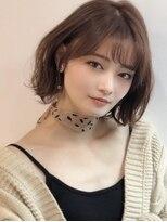 《Agu hair》エレガントな艶ショートボブ