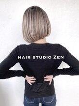 ヘアースタジオ ゼン(hair studio Zen)ハンサムショート
