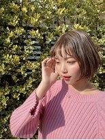 10代20代30代韓国風大人可愛いシースルーバングボブ甲斐ジュンヤ