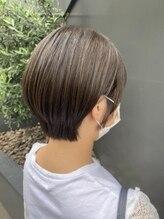 シャインヘアフラッペ 新百合ヶ丘2号店(Shine hair frappe)ハンサムショート