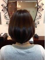 髪質改善ヘアエステ アリュール(allure)重めBOB&髪質改善カラーエステ【新宿 髪質改善 allure】